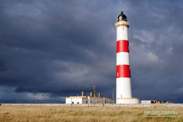 Faro de Tarbat Ness - Ruta North Coast 500 Escocia