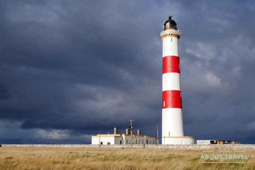 Faro de Tarbat Ness - Ruta North Coast 500 Escocia
