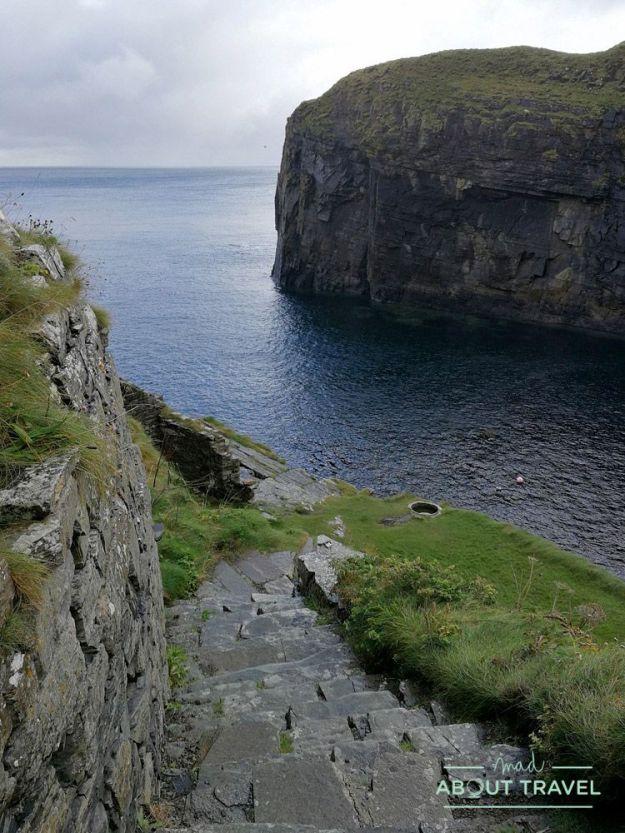 Whaligoe Steps - Ruta North Coast 500 Escocia