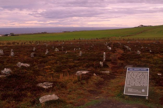 Hill o' Many Stanes - Ruta North Coast 500 Escocia