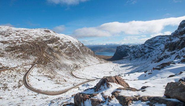 Bealach na Bà - Ruta North Coast 500 Escocia