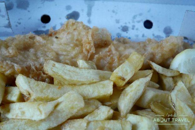 donde comer en shetland - frankie's fish and chips