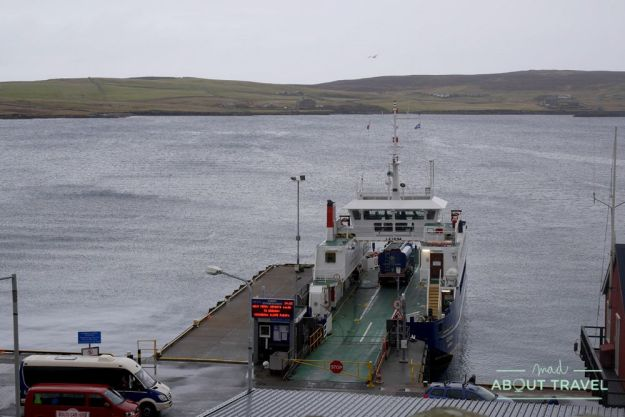 que ver en shetland - ferry a bressay