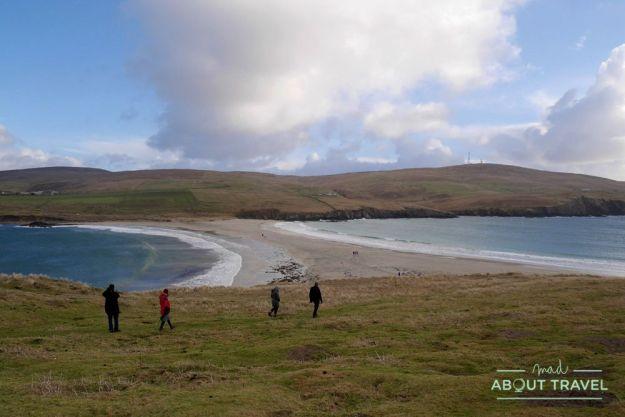 que ver en Shetland - isla de San Ninian