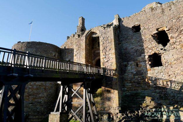 castillos cerca de Edimburgo: castillo de Dirleton