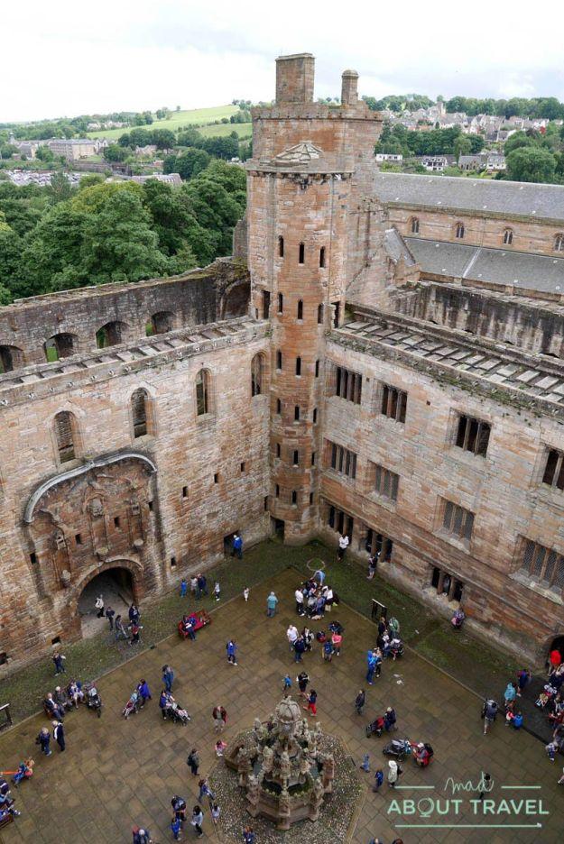 castillos cerca de Edimburgo - Palacio de Linlithgow