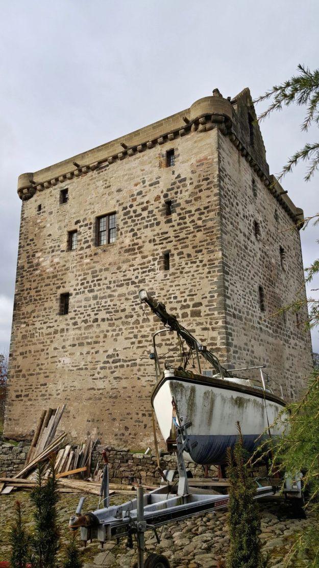 castillos cerca de edimburgo: castillo de niddry