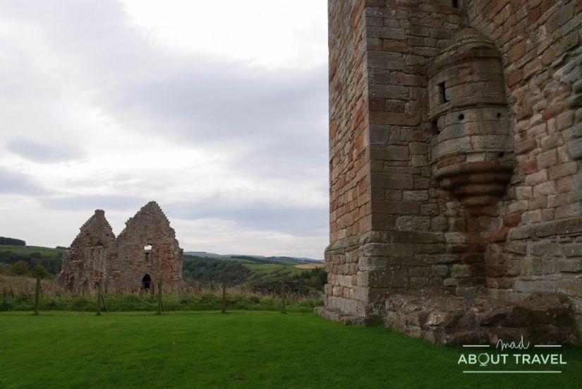 castillo de crichton, escocia