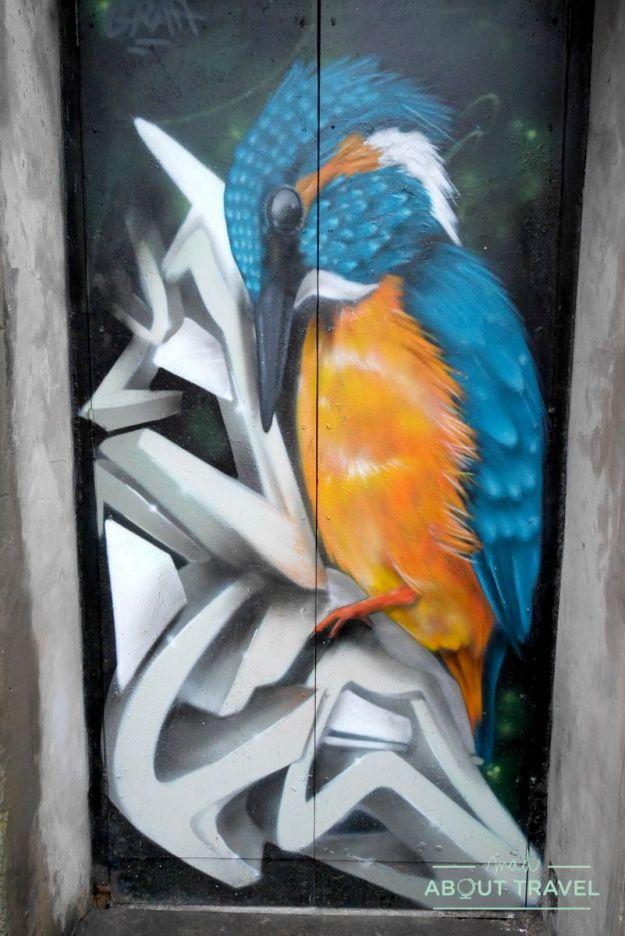 que ver en dundee en dos dias: openclose arte urbano