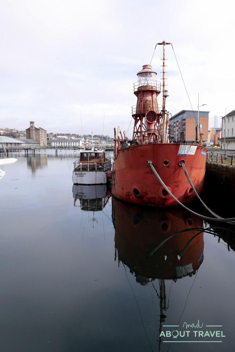 que ver en dundee: docks