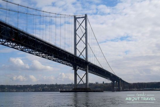 puente forth road bridge en south Queensferry, edimburgo