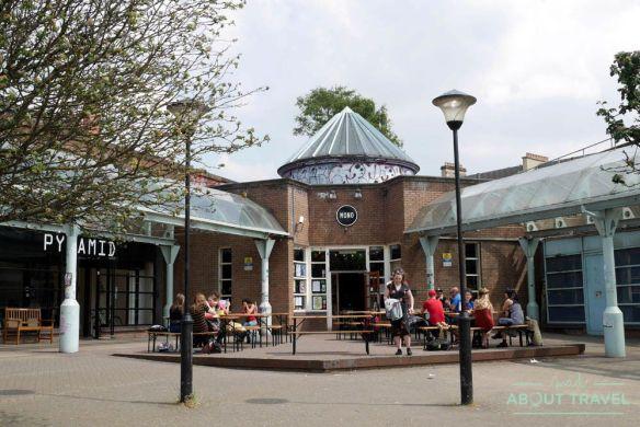 Cafetería vegana MONO, Glasgow