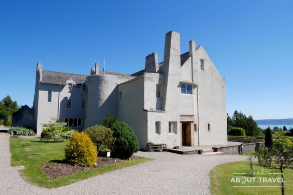 Hill house de mackintosh en Helensburgh, Escocia