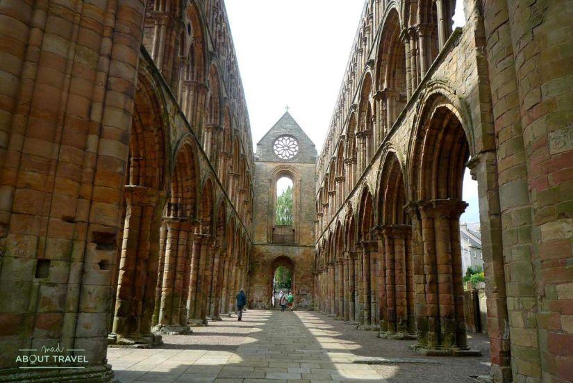 Abadía de Jedburgh, Borders