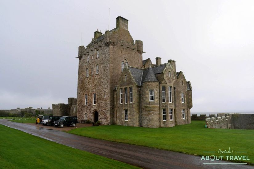 donde dormir en la ruta north coast 500: ackergill tower