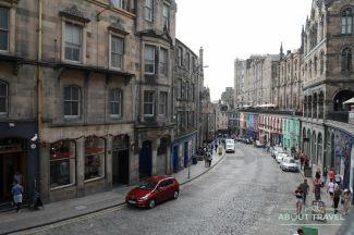 Edinburgh Music Tour: Victoria Street