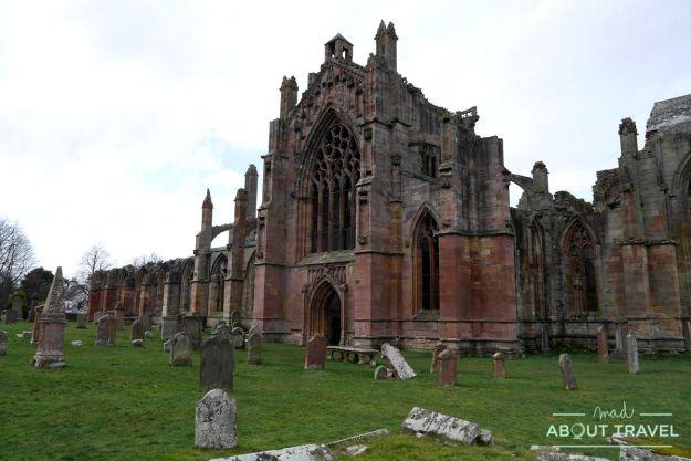 Abadía de Melrose, Borders de Escocia