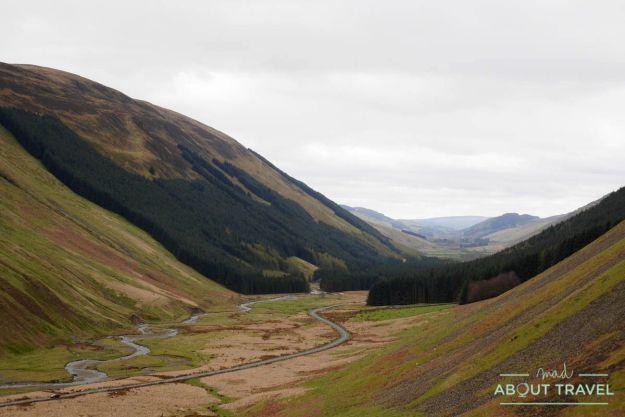 Grey Mare's Tail, borders escocia