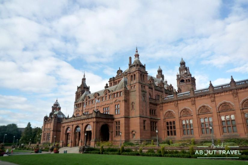 ruta de mackintosh Glasgow: museo de Kelvingrove