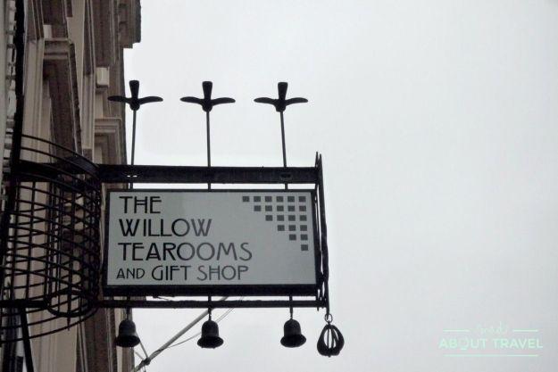 ruta de mackintosh Glasgow: Mackintosh at the Willow