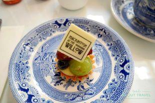 Mackintosh at the Willow es una joya del modernismo escocés y, como uno de los mejores ejemplos del mundo de un edificio Art Nouveau, está protegido. Tomar el afternoon tea a la hora de comer entre muebles y objetos decorativos originales y replicas totalmente fieles es algo indescriptible. Y está riquísimo.