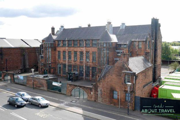 ruta mackintosh glasgow: scotland street school