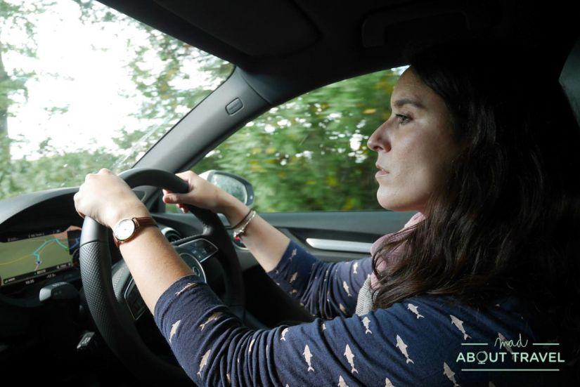 alquiler de coche en escocia: sixt