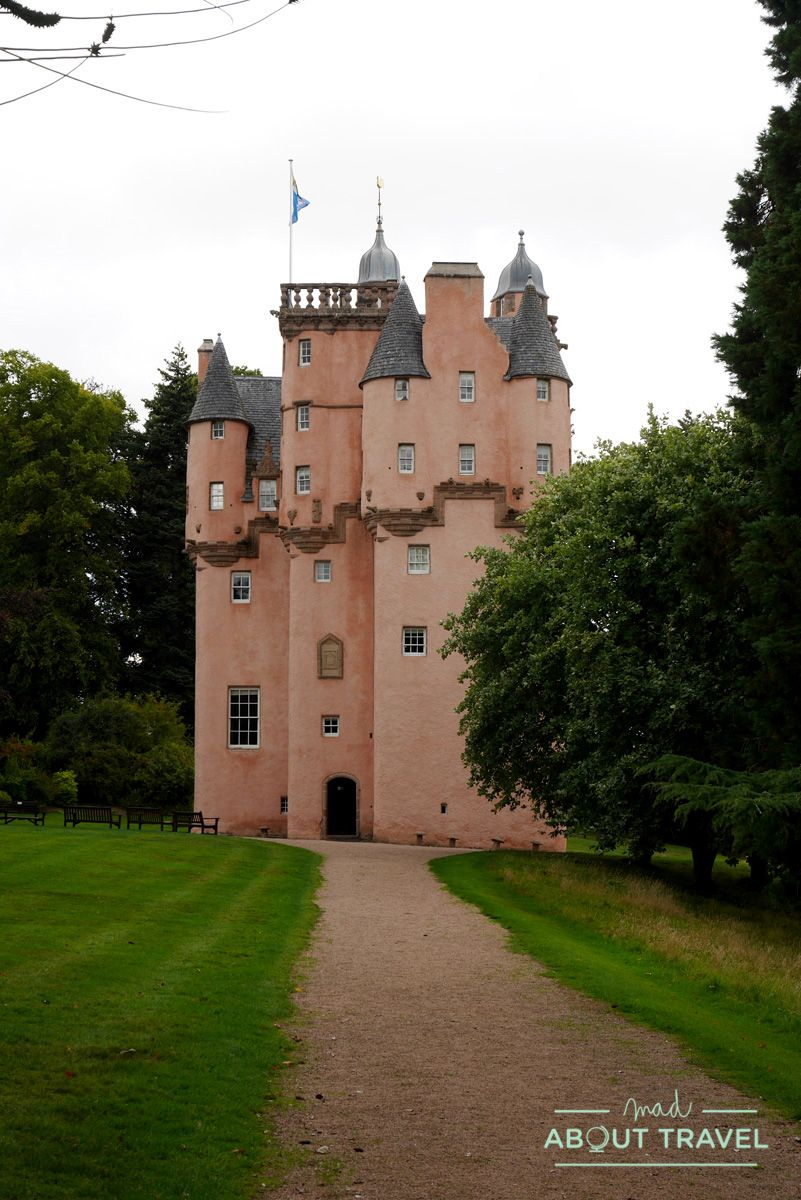 ruta de los castillos de Aberdeen: castillo de Craigievar