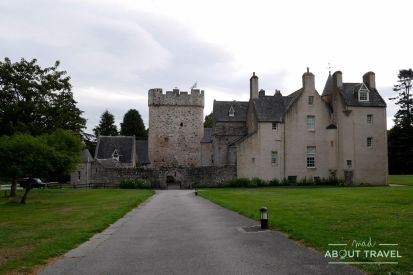 ruta de castillos de aberdeen: castillo de drum