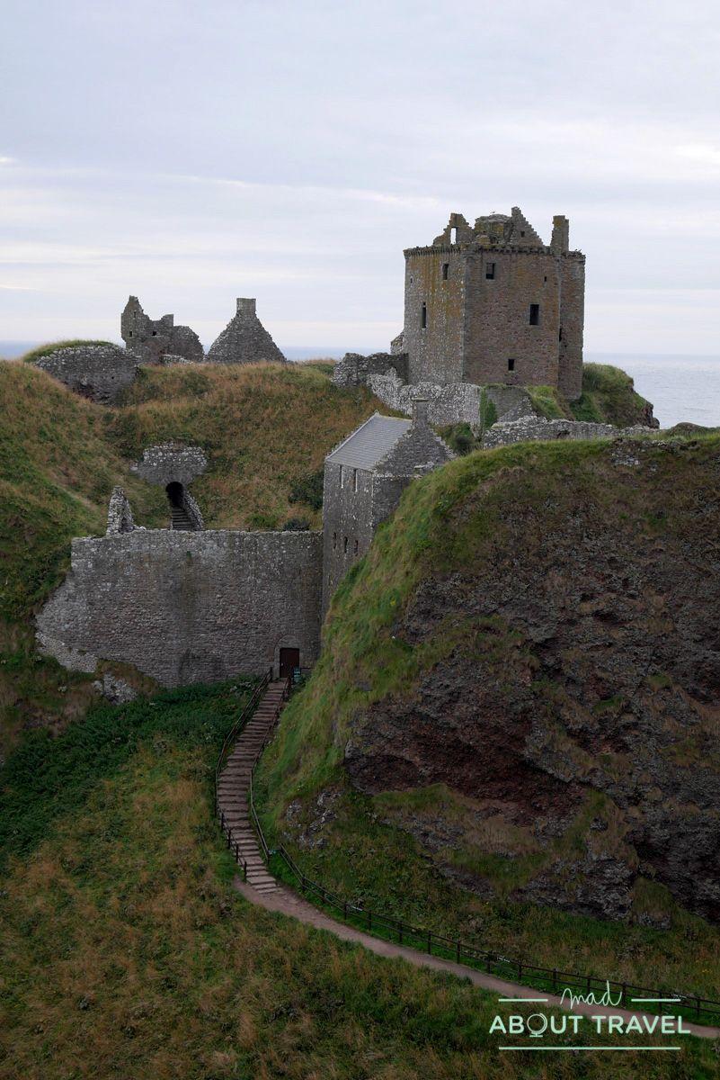 ruta de los castillos de aberdeen: castillo de dunnottar
