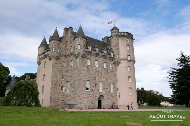 ruta de los castillos de aberdeen: castillo fraser