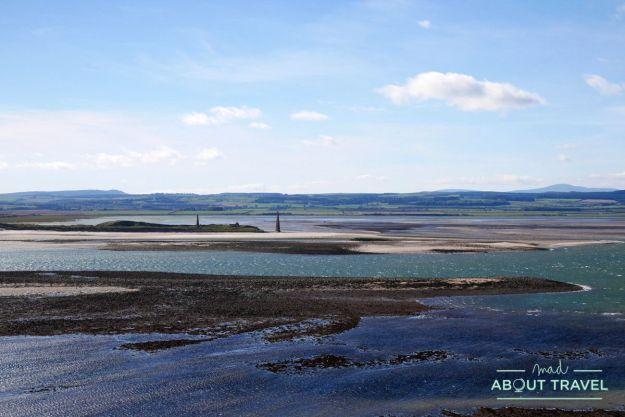 isla de Holy Island en Northumberland