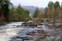 Falls of Dochart, Killin, Highlands Escocia