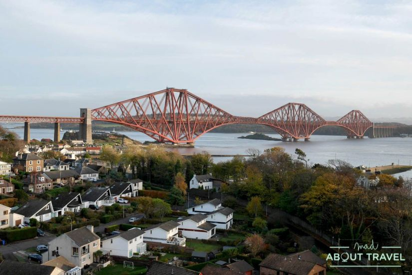 ruta en bicicleta desde Edimburgo: north queensferry