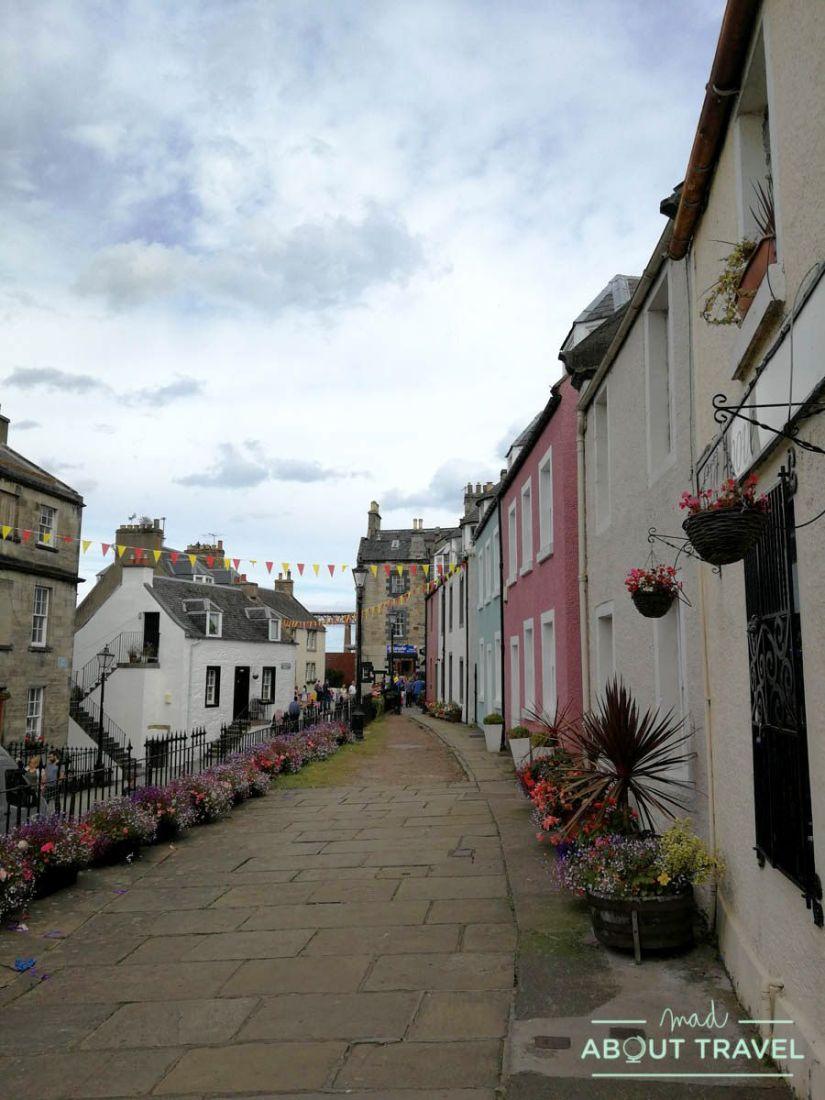 ruta en bicicleta desde Edimburgo: south queensferry
