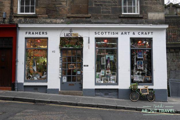 ruta de Harry Potter en Edimbugo: Candlemaker Row