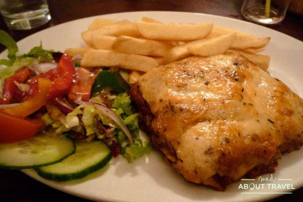 donde comer en falkland: the bruce inn