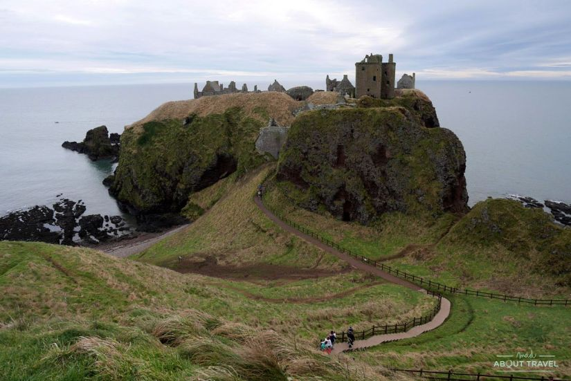 castillo de dunnottar