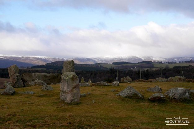 círculo de piedras de Tomnaverie