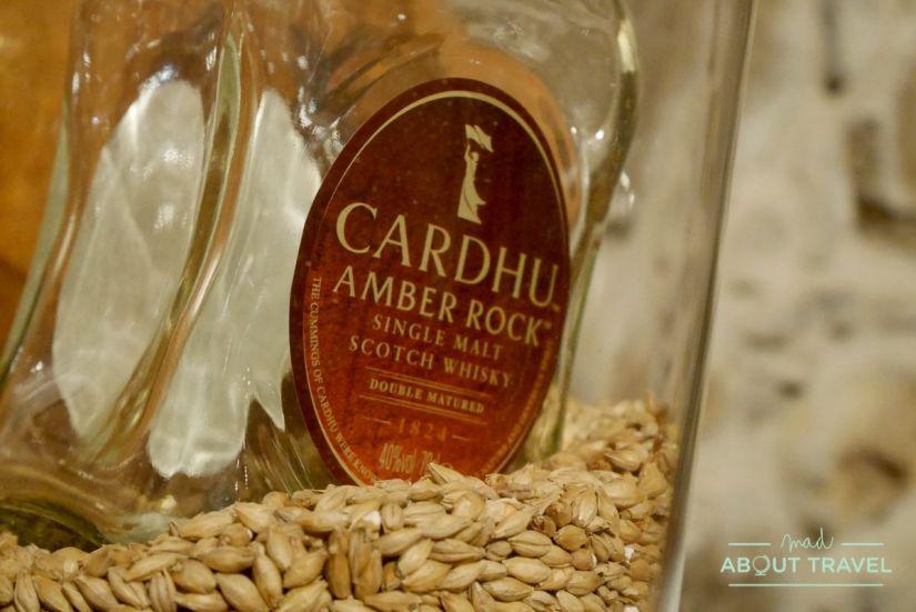 destilería de whisky Cardhu
