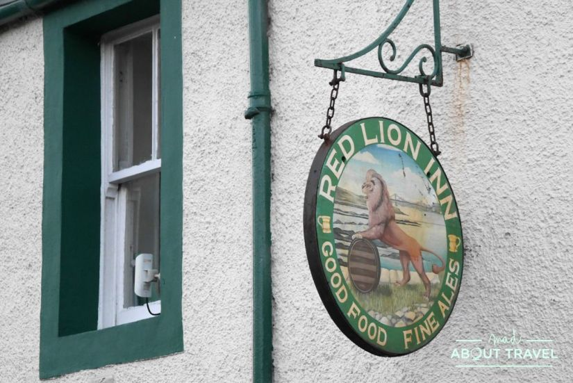 donde comer en culross: red lion inn
