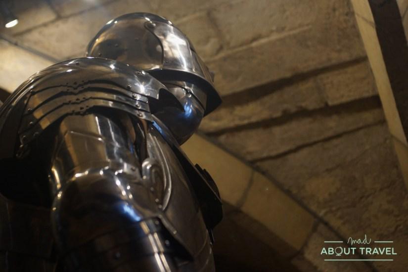 armadura medieval en York