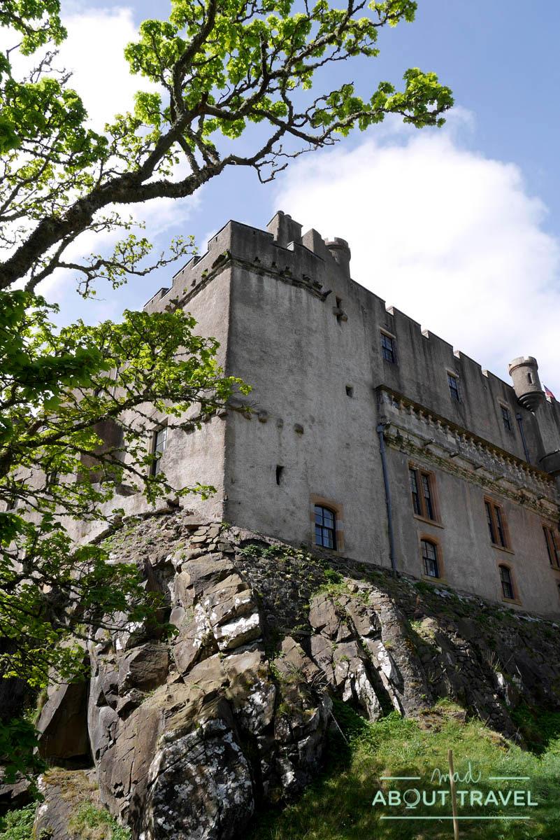 Detalle del castillo de Dunvegan
