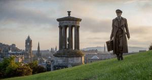 imagen de la película The Railway Man, rodada en Edimburgo