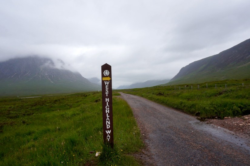 West Highland Way Escocia