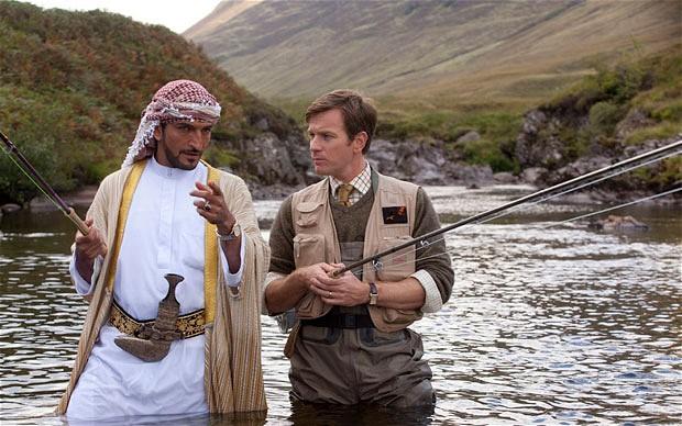 Imagen de la película La pesca del salmón en Yemen