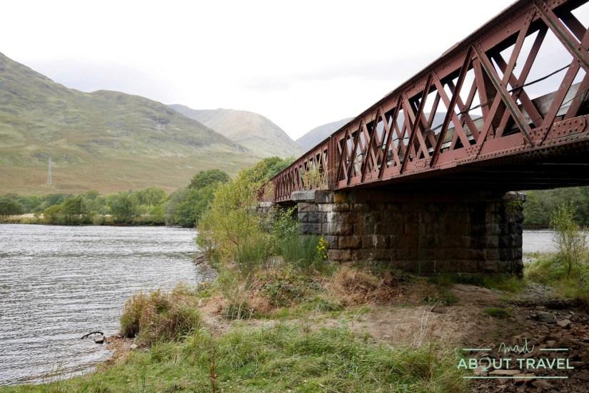 ruta al castillo de Kilchurn, Escocia