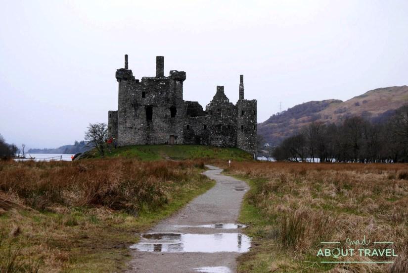 castillo de Kilchurn, Escocia