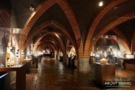 Museo del Ámbar en el castillo de Gdansk, Polonia