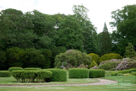 Millennium Garden en el castillo de Floors